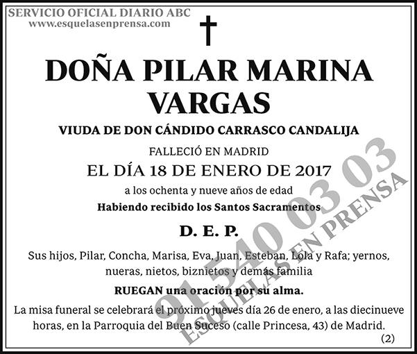 Pilar Marina Vargas